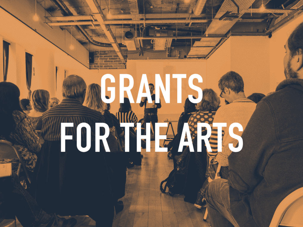 Grants for the Arts – Arts Council England